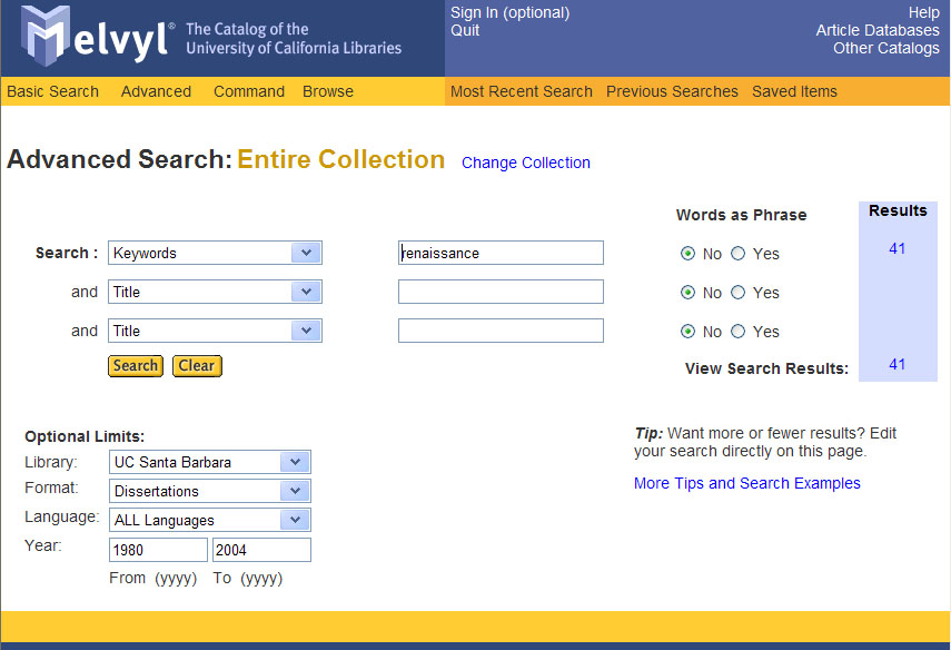 ucsb dissertation search